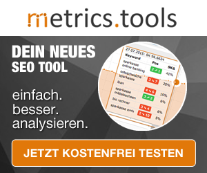 Metrics Tool SEO Software
